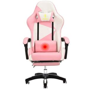 Pink Play Chair with Lumbar Pillow Massage
