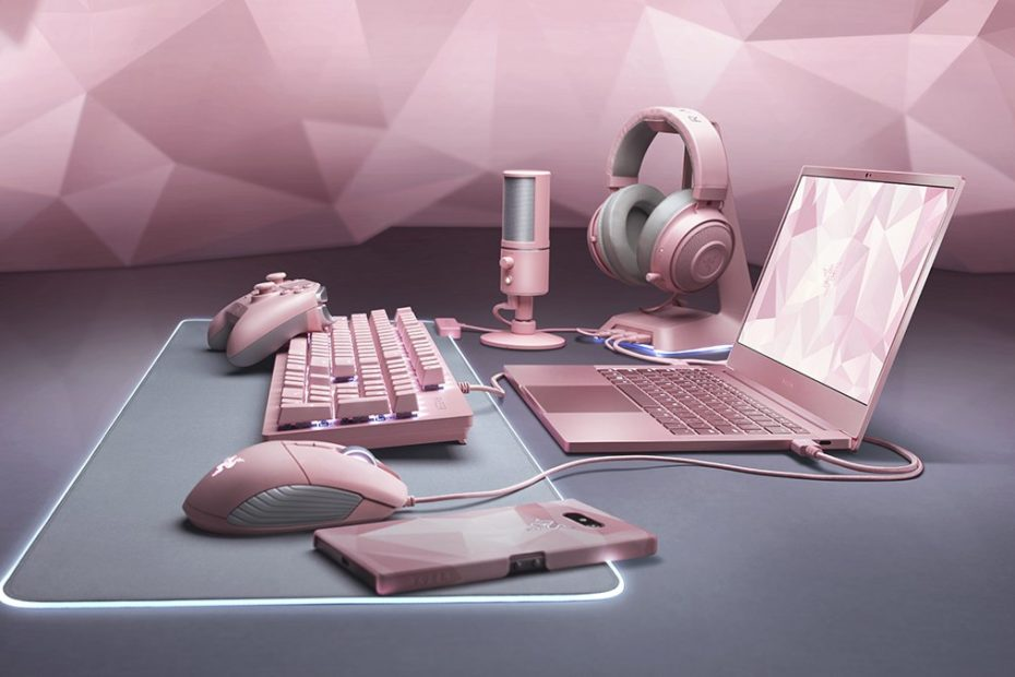 razer pink set