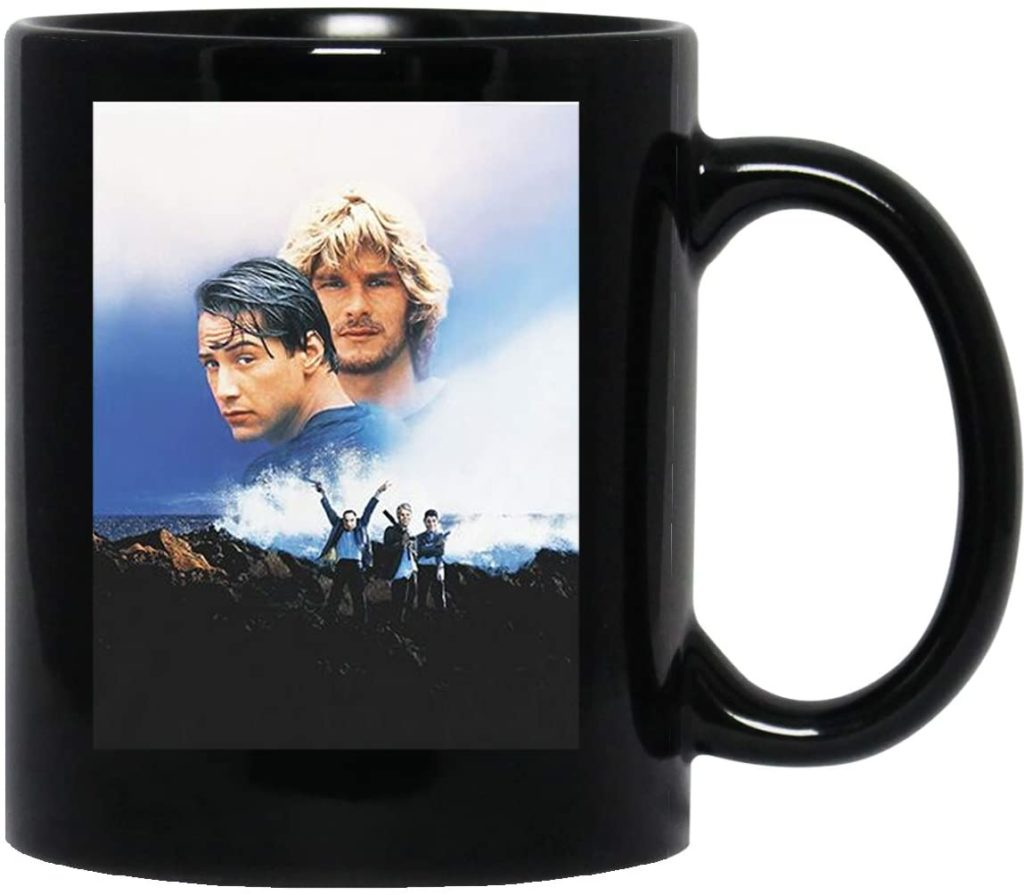 Taza negra de Point Break