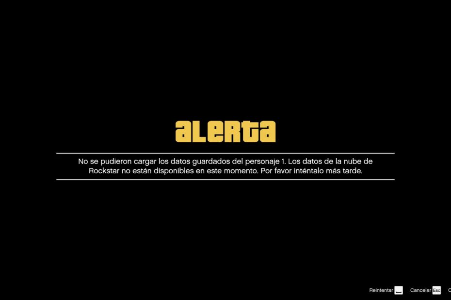 GTA Online caido