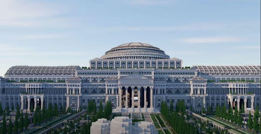 biblioteca en minecraft