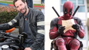 Keanu Reeves ghost rider y deadpool