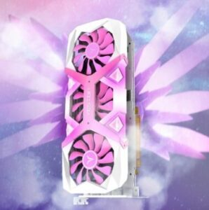 yeston rx 5700 xt pink white rosa